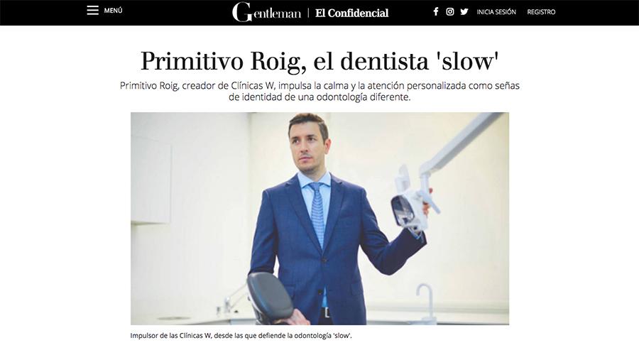 Entrevista Primitivo Roig entrevista Gentelman